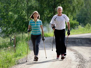 Nordic Walking is a great way to get a full body cardio workout